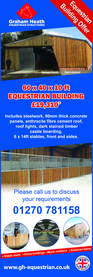 0069 GHE Building offer in Equine magazine August 17